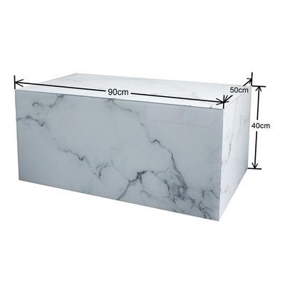 Mesa centro Luxury Marble 90x50cm