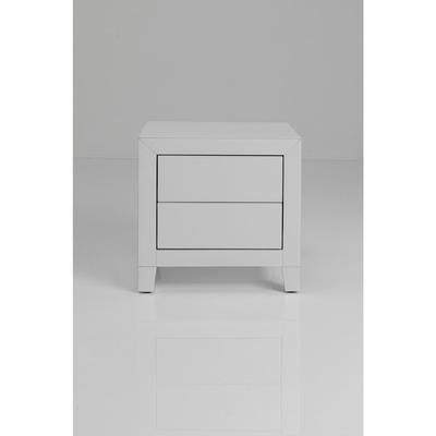 Dresser Small Luxury Push 2 Drawers White