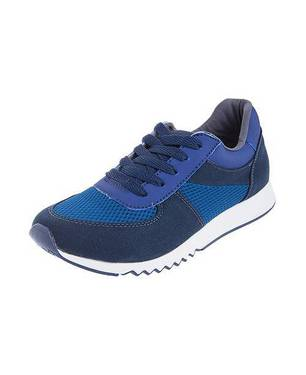 Zapatos Urban Blue Sneakers 0110-M Azul - LUSOLE