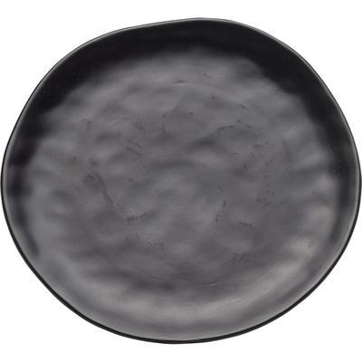 Plato Organic negro Ø26cm