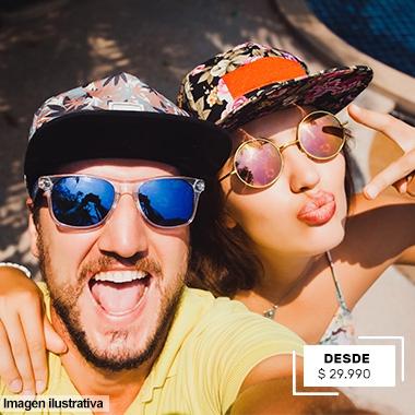 QUIKSILVER, DRAGON Y MÁS ACCESORIOS DESDE 29.990