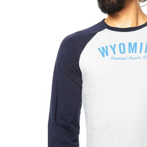 Camiseta Manga Larga Jack Supplies para Hombre - Azul