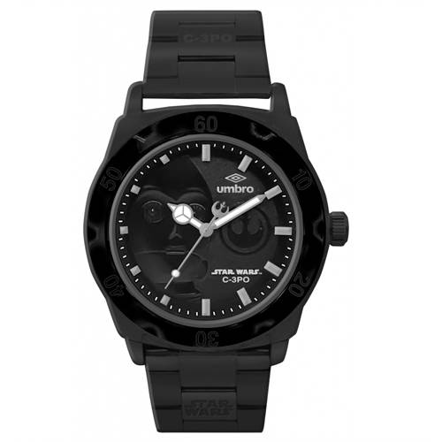 Reloj Análogo Negro-Negro Umb-Sw04-2
