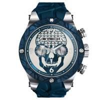 Reloj analógico azul-azul 4-04