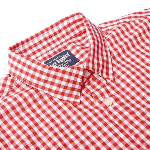Camisa Manga Larga Springs Jack Supplies Para Hombre  - Rojo