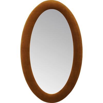 Espejo Velvet marrón Oval 150x90cm