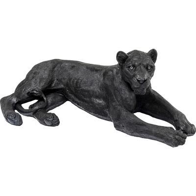 Figura deco Lion negro 113cm