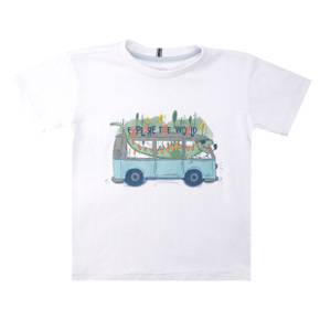 Camiseta Little Boy Mountain
