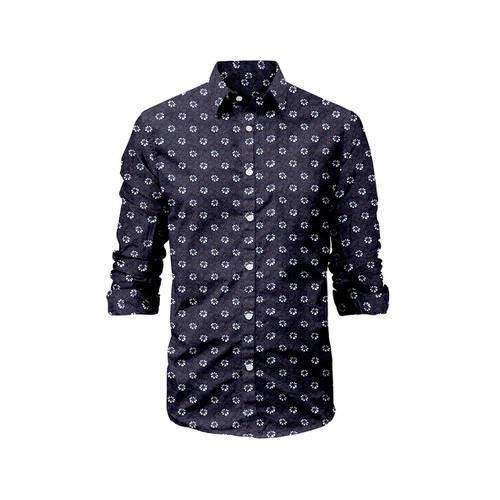 Camisa Manga Larga Victorville Rosé Pistol para Hombre - Azul