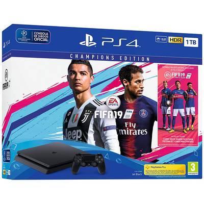 Consola PS4 1TB Slim + FIFA 19