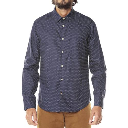 Camisa Manga Larga Thompson para Hombre Color Siete