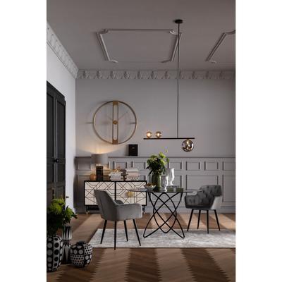 Lámpara Talea negro 150cm