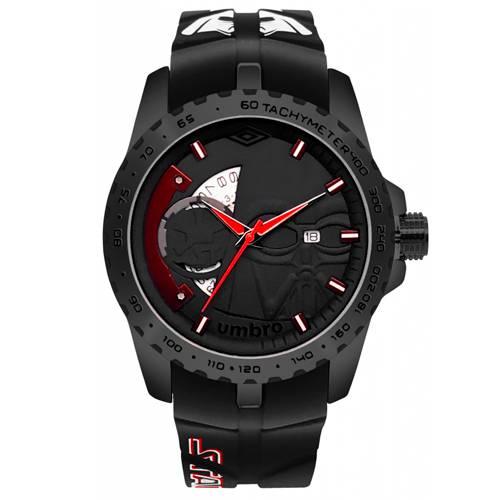Reloj Análogo Negro-Negro Umb-Sw02-1