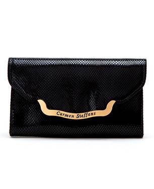 Billetera con Placa Personalizada Negro