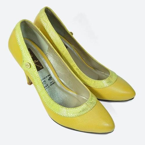 Zapato Cerrado Amarillo