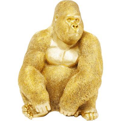 Figura decorativa Monkey Gorilla Side XL oro