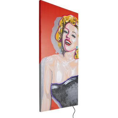 Cuadro Idol Marilyn Neon 160x80cm