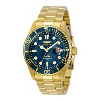 Reloj quartz azul-oro 0024