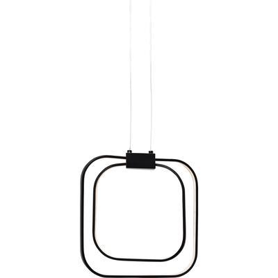 Lámpara Cubes negro LED
