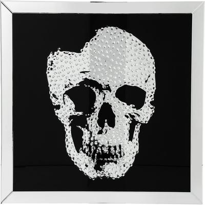 Cuadro Mirror Cráneo 100x100cm