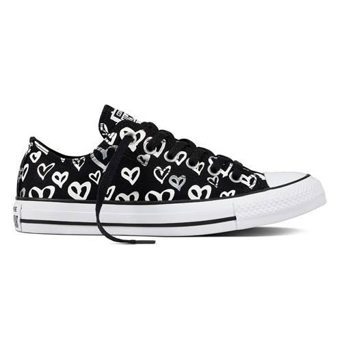 Zapatos Chuck Taylor All Star Black-Silver-White