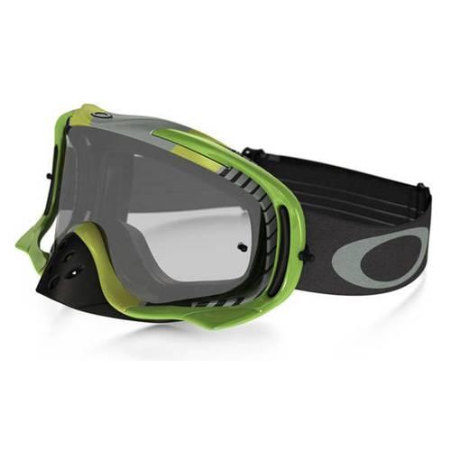 Goggles Crowbar Mx Biohaz Grn-Gry W-Clear