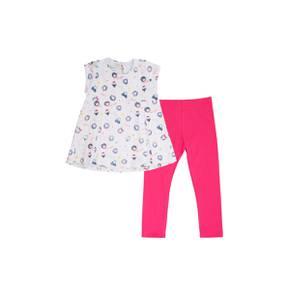 Conjunto leggings y camiseta para niña