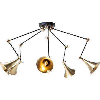 Lámpara Trumpet latón Spider 5