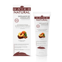 Exfoliante de Chocolate con Semillas de Durazno Haiko Natural 80g