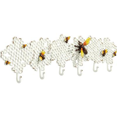 Perchero pared Bee