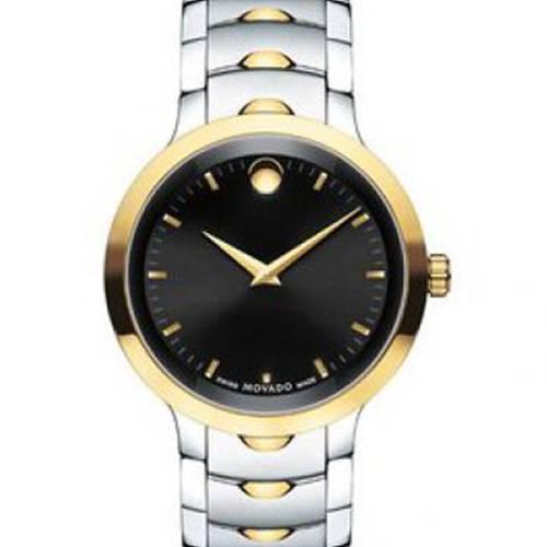 Reloj análogo negro-multicolor 7043