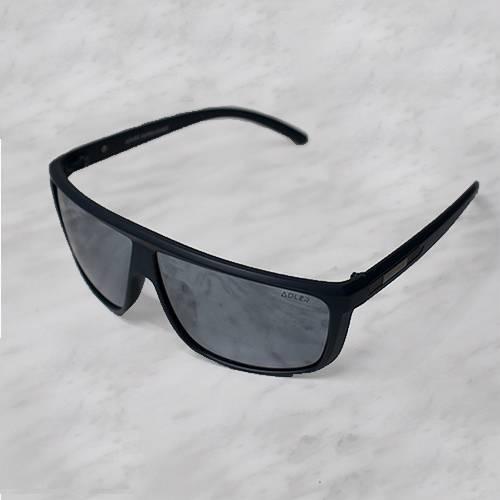 Gafas de sol polarizada con filtro UV 400 Negro Espejo - Negro