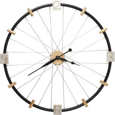 Reloj pared Spoke Wheel 80cm