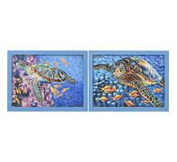 Decoración pared Sea Turtle 58x76cm - varios