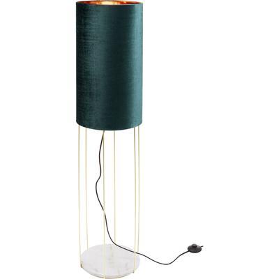 Lámpara mesa Cafeteria Lounge turquesa 135cm