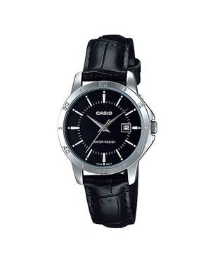 Reloj análogo negro-negro L-1A