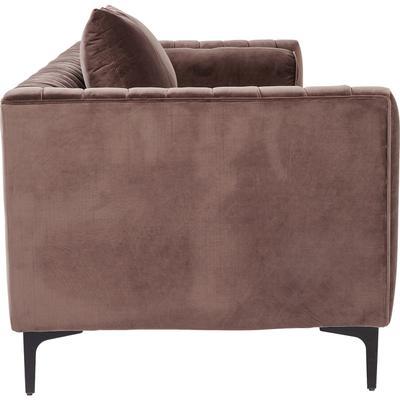 Sofá Variete marrón 3p