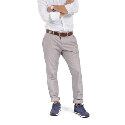 Pantalon Chelsea Color Siete Para Hombre  - Gris