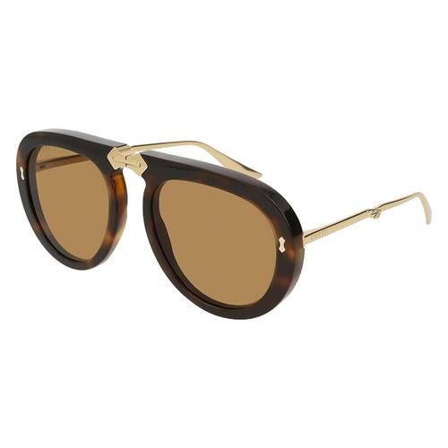 Gafas de sol havana-oro-café 06S-003