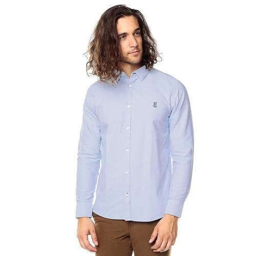 Camisa Manga Larga Para Hombre Jack Supplies - Azul