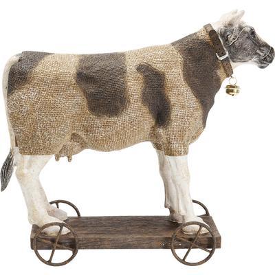 Figura decorativa Cow On Wheels