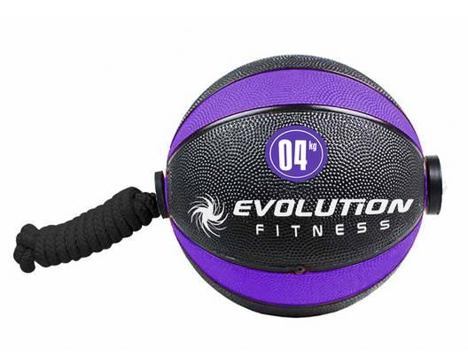 Balón rebote con lazo EVOLUTION 4kg