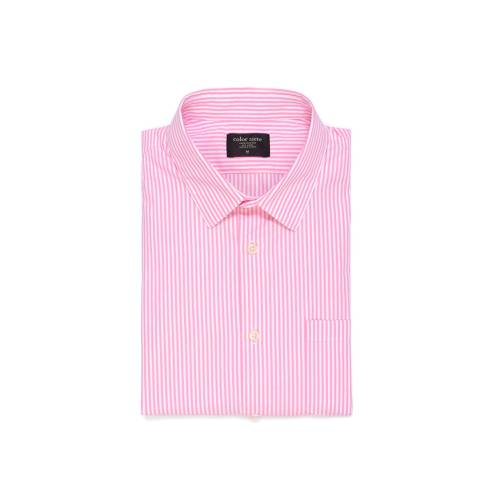 Camisa Manga Larga Thompson Color Siete para Hombre - Rosado