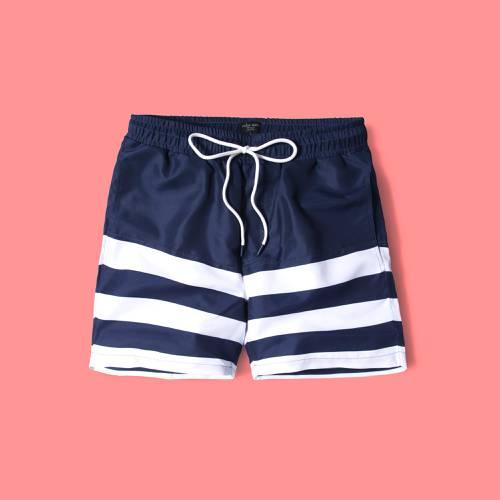 Pantaloneta Color Siete Para Hombre - Azul