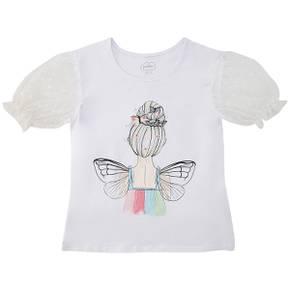Camiseta Kid Girl Mountain