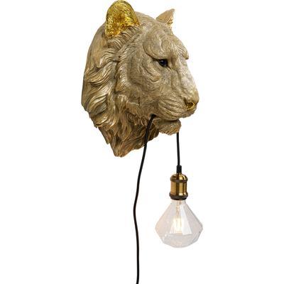 Lámpara pared Tiger Head