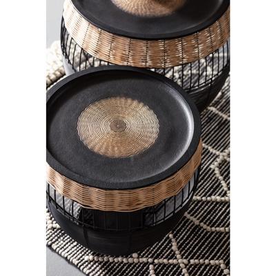 Mesa auxiliar African Drums (2/Set)