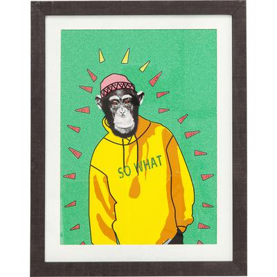 Cuadro Gangster Monkey