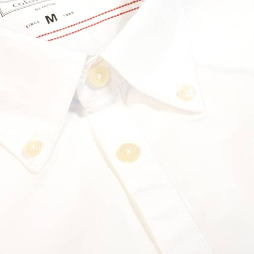 Camisa Jones Manga Larga  - Blanco