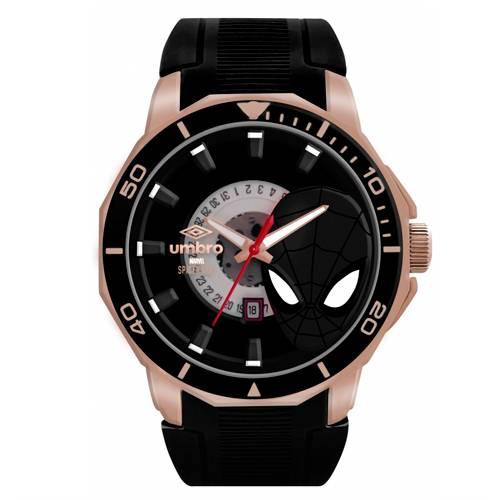 Reloj Análogo Oro rosa-Negro Umb-Sm01-5
